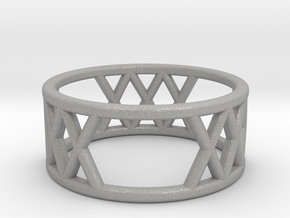 XXX Ring Size-5 in Aluminum