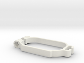 Schumacher Cat Lipo Clamp in White Natural Versatile Plastic