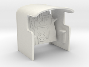 A0 - A0 Cab & Backhead Controls for A0 Boiler in White Natural Versatile Plastic