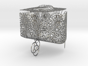 Magic Box in Natural Silver