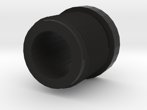 14mmx1 Negative Muzzle Thread Interface in Black Strong & Flexible