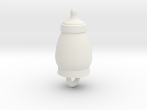 Sucker Punch Babydoll Gun Charms: Baby Bottle in White Strong & Flexible