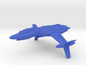 Valkyrie II in Blue Processed Versatile Plastic