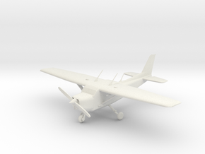Cessna C172 Skyhawk in White Strong & Flexible: 1:56