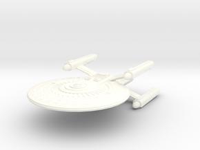 USS Ellison in White Processed Versatile Plastic