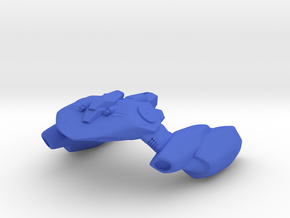 Hishen fighter in Blue Processed Versatile Plastic