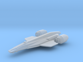 Frigate in Smoothest Fine Detail Plastic
