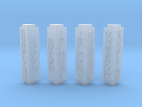 Sith Holo stand columns in Smooth Fine Detail Plastic