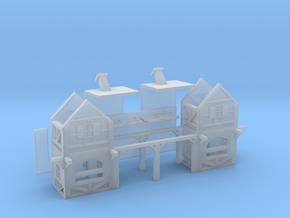 Eingang Fachwerk - 1:220/ 1:160 in Smooth Fine Detail Plastic: 1:220 - Z