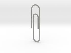 Paperclip in Metallic Plastic