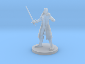 Human Male Blade Warlock in Smooth Fine Detail Plastic
