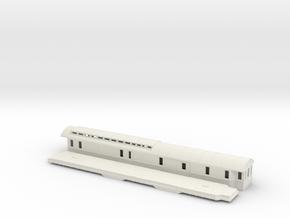 DFo3 - Swedish passenger wagon in White Natural Versatile Plastic