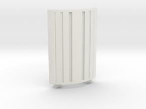 Graflex Soundboard Cover in White Natural Versatile Plastic