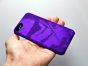 iPhone 7 Case_Storm Trooper in Purple Strong & Flexible Polished
