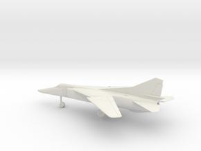 MiG-23BN Flogger-H in White Natural Versatile Plastic: 1:100