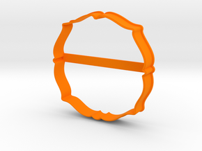Plate 28 cookie cutter for professional in Orange Processed Versatile Plastic