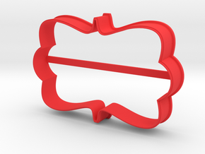 Plate 27 cookie cutter for professional in Red Processed Versatile Plastic