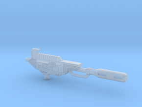 Ionic Displacer Rifle for TR Astrotrain in Smooth Fine Detail Plastic