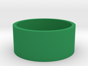 Boston Box British 2 Pound (£2) in Green Processed Versatile Plastic