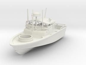 1/87 US Navy Vietnam Era Patrol Boat River (PBR) in White Natural Versatile Plastic