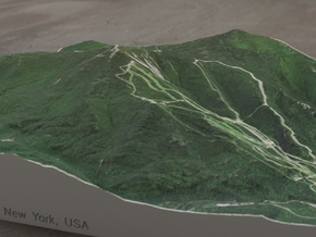 Whiteface Mtn., NY, USA, 1:25000 Explorer in Full Color Sandstone