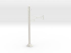 PRR 2T BRACKET 2.5 STEADY in White Natural Versatile Plastic