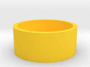 Boston Box 2 Euro in Yellow Processed Versatile Plastic