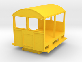 Wickham Trolley Car O in Yellow Processed Versatile Plastic