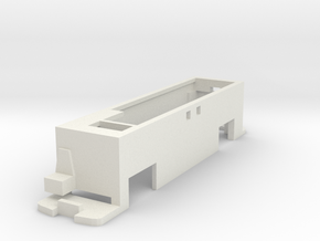 Interface for Tomytec chassis with New Routemaster in White Natural Versatile Plastic