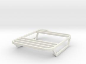 Rear lights protector left w/o ladder D90 1/2 in White Natural Versatile Plastic