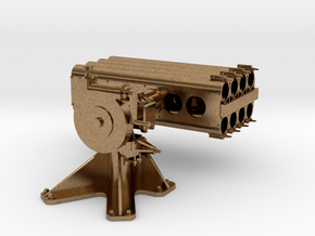 1/20 5 inch Rocket Launcher Mark 50 in Strong and  in Natural Brass