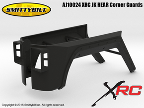 AJ10024 Smittybilt XRC JK REAR Corner Guards in Black Natural Versatile Plastic