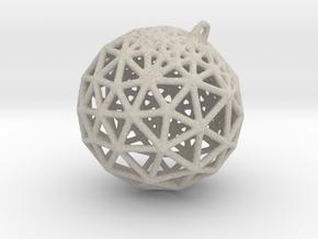 Platonic Pendant #1 in Natural Sandstone