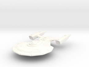 USS Tyler in White Processed Versatile Plastic