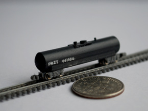 T Gauge 8 Tank Car Set in Smoothest Fine Detail Plastic