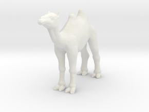 Printle Thing Camel - 1/72 in White Natural Versatile Plastic