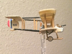 "Vickers F.B.5 ""Gunbus"" in White Strong & Flexible: 1:144"