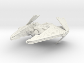 Sith Fury Interceptor (Wings Open) 1/270 in White Premium Strong & Flexible