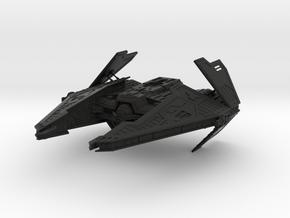 Sith Fury Interceptor (Wings Open) 1/270 in Black Premium Versatile Plastic