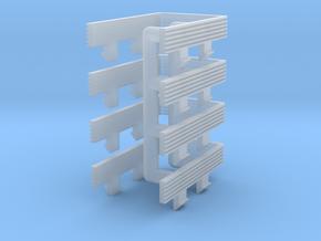 4 stuks vouwbalg voor Minitrix NS koploper (1:160) in Frosted Ultra Detail