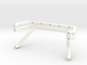 Bigfoot 7 roll bar in White Processed Versatile Plastic