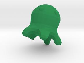 Meet the Brain Slug  in Green Strong & Flexible Polished: Small