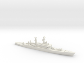 Leahy-class cruiser (1961), 1/1800 in White Natural Versatile Plastic