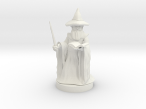 Gnome Wizard in White Strong & Flexible