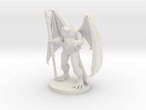 Dragonborn Druid in White Strong & Flexible