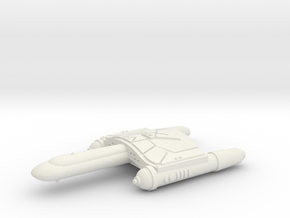 3125 Scale Romulan SkyHawk-A Destroyer WEM in White Natural Versatile Plastic