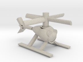 Happy Heli with moving parts in Natural Sandstone