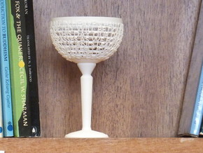 Customizable Chalice in White Natural Versatile Plastic