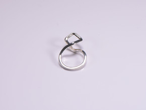 A-LINE Dancing D.011 Ring US size 3.5, d=14,5mm in Polished Silver: 3.5 / 45.25