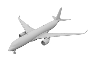 1:500 - A350-900 [Assembled] in Smooth Fine Detail Plastic
